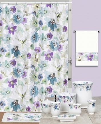 Шторка Creative Bath Bouquet S1097MULT