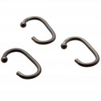 Набор из 12 крючков для шторки Carnation Home Fashions Hook C Type Bronze
