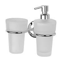 Держатель для стакана и дозатора для жидкого мыла FBS Standard