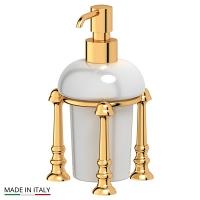 Емкость для жидкого мыла 3SC Stilmar Gold настольная