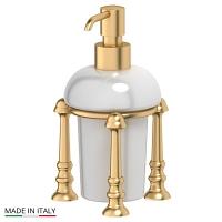 Емкость для жидкого мыла 3SC Stilmar Matte Gold настольная