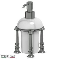 Емкость для жидкого мыла 3SC Stilmar Antique Silver настольная