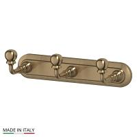 Планка 3SC Stilmar Antique Bronze с тремя крючками