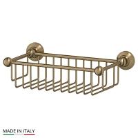 Полочка-решетка 3SC Stilmar Antique Bronze 31см