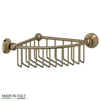 Полочка-решетка 3SC Stilmar Antique Bronze угловая 23см