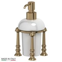 Емкость для жидкого мыла 3SC Stilmar Antique Bronze настольная