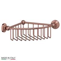 Полочка-решетка 3SC Stilmar Antique Copper угловая 23см