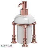 Емкость для жидкого мыла 3SC Stilmar Antique Copper настольная