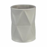 Стакан для зубной пасты Creative Bath Triangles