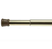 Карниз для ванной комнаты Carnation Home Fashions Standard Tension Rod Brass
