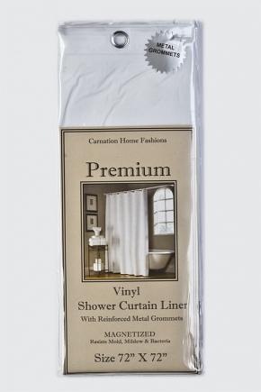 Шторка защитная Carnation Home Fashions Gauge Premium 4 White USC-4/21