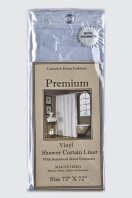 Шторка защитная Carnation Home Fashions Gauge Premium 4 Super Clear