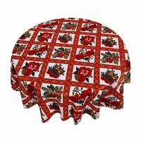 Кухонная скатерть 152х213 см Carnation Home Fashions Tablecloths Holiday Cheer