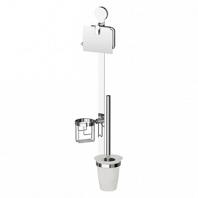 Комплект для туалета ArtWelle Harmonie со стеклянным ершом