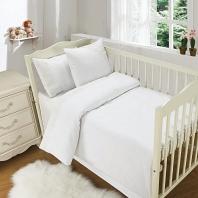 Кружево из облаков (молоко) Комплект дет. Sofi de Marko Bedding Sets Baby Сатин