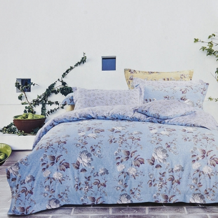 Иоланта КПБ сатин Евро 4н Sofi de Marko Bedding Sets Евро-1116