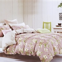 Лукерия КПБ сатин Евро 4н Sofi de Marko Bedding Sets