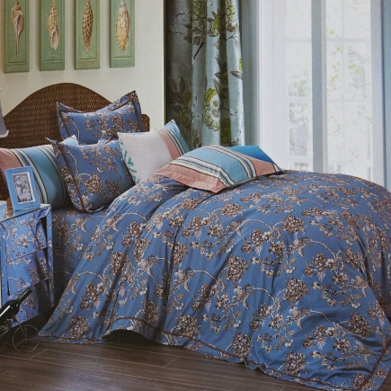 Нэд КПБ сатин Евро 4н Sofi de Marko Bedding Sets Евро-3535
