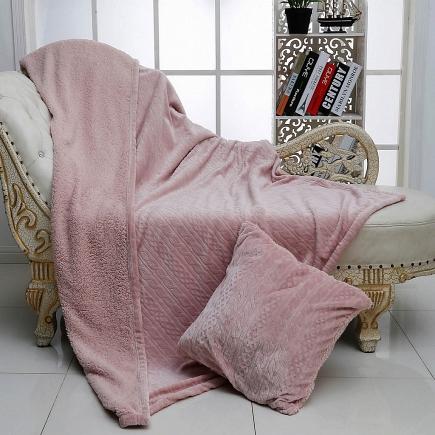 Плед Фабиян (розовый) Sofi de Marko Plaids 160х220см Плед-Ф63-160х220