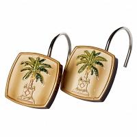 Набор из 12 крючков для шторки Avanti Banana Palm