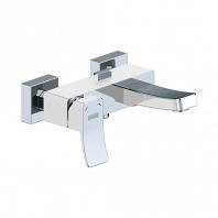 Смеситель для ванны WasserKRAFT Aller White с коротким изливом