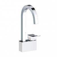 Смеситель для кухни WasserKRAFT Aller White комбинированное покрытие