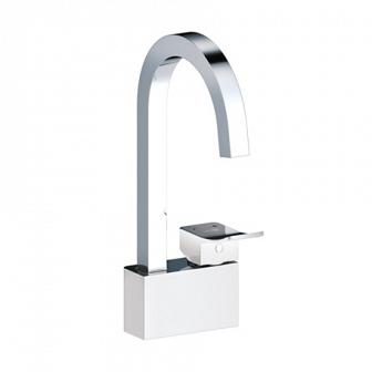 Смеситель для кухни WasserKRAFT Aller White комбинированное покрытие 1067WHITE