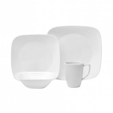Набор посуды Corelle Pure White 16пр. 1069958