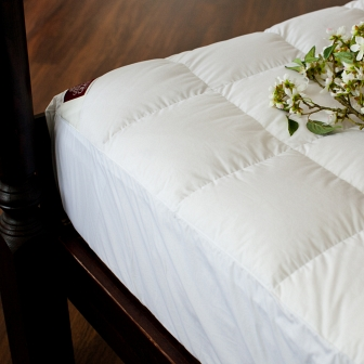 Наматрасник-перинка Non-Allergenic Premium German Grass Bed Pads 200х200х30см 108200