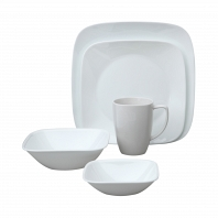 Набор посуды Corelle Pure White 30пр.