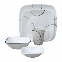 Набор посуды Corelle Simple Lines 30пр.