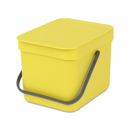 Ведро для мусора Brabantia Sort&Go 6л 109683
