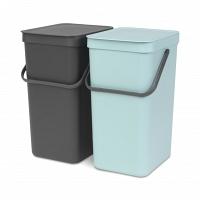 Набор ведер для мусора Brabantia Sort&Go 16л (2шт)