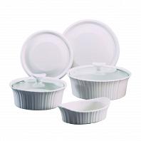 Набор форм для запекания CorningWare French White 7пр.