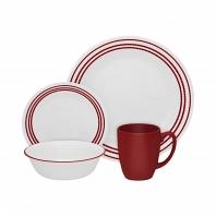 Набор посуды Corelle Ruby Red 16пр.