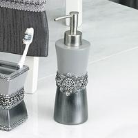 Дозатор для жидкого мыла Avanti Braided Medallion Silver