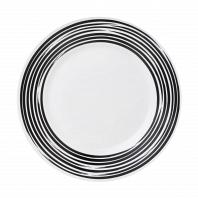 Тарелка обеденная Corelle Brushed Black 27см