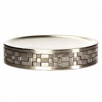 Мыльница Avanti Basketweave Silver