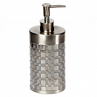 Дозатор для жидкого мыла Avanti Basketweave Silver