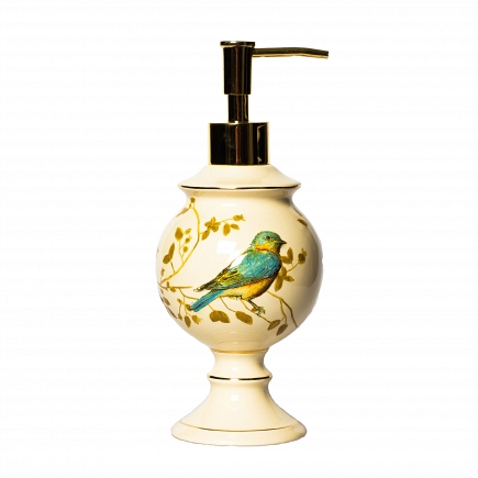 Дозатор для жидкого мыла Avanti Gilded Birds 11984D
