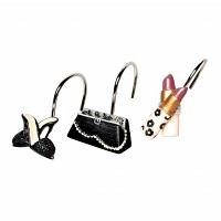Набор из 12 крючков для шторки Avanti Dressed to Thrill
