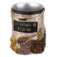 Стакан для зубной пасты Avanti Rather Be Fishing