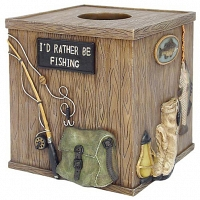 Бокс для салфеток (салфетница) Avanti Rather Be Fishing