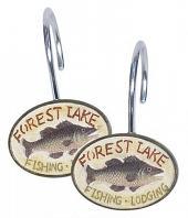 Набор из 12 крючков для шторки Avanti Rather Be Fishing