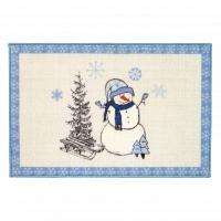 Коврик Avanti Bath Rugs Let it Snow (Blue) 51х76см