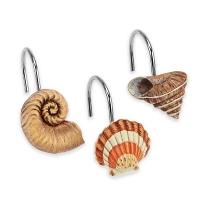 Набор из 12 крючков для шторки Avanti Seaside Vintage
