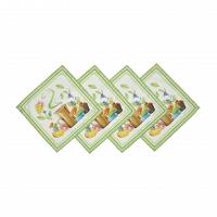 Комплект из 4-х салфеток Blonder Home Tea Time 40x40 см