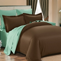 Лукка КПБ сатин 1.6 Sofi de Marko Bedding Sets Сатин Однотонный 4н