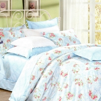 Селеста (голуб) КПБ сатин 1.6 Sofi de Marko Bedding Sets 1.6 Сатин