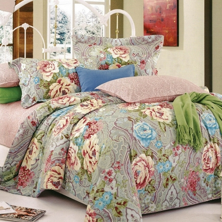 Нимфея КПБ сатин 1.6 Sofi de Marko Bedding Sets 1.6 Сатин 1.6-3319